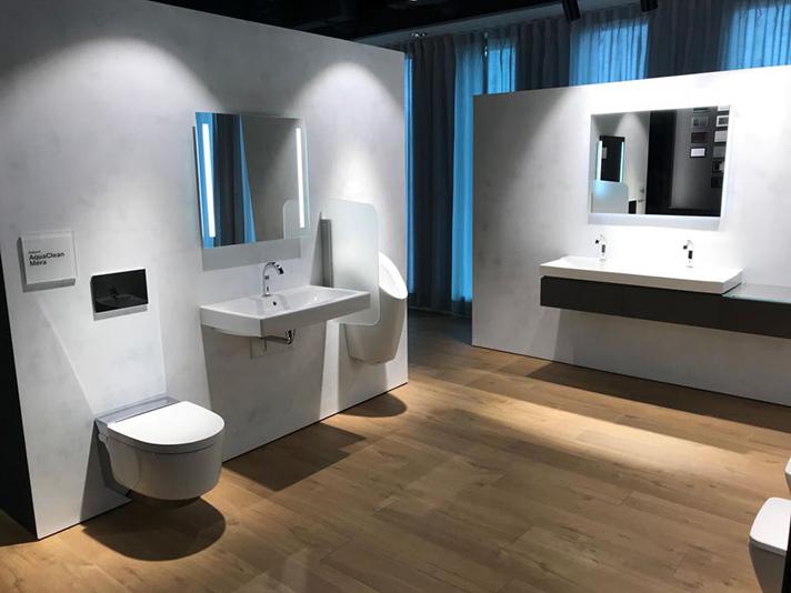 Es un espacio en el que inspirarse para la creación y el diseño del baño del siglo XXI