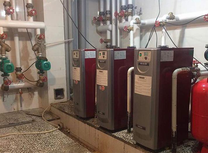 Las calderas condensadoras de gas ADI CD 105