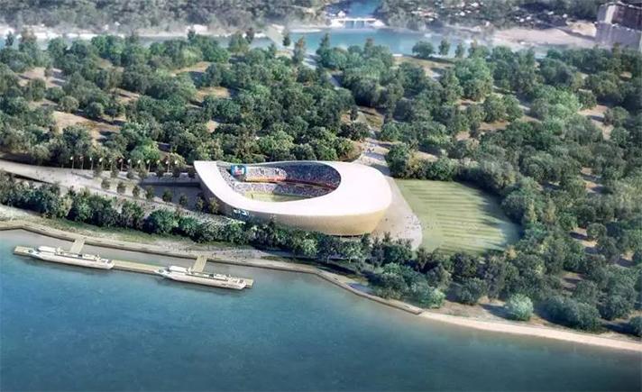 Midea estará presente en 7 de los 12 estadios que albergarán los partidos del Mundial de Rusia