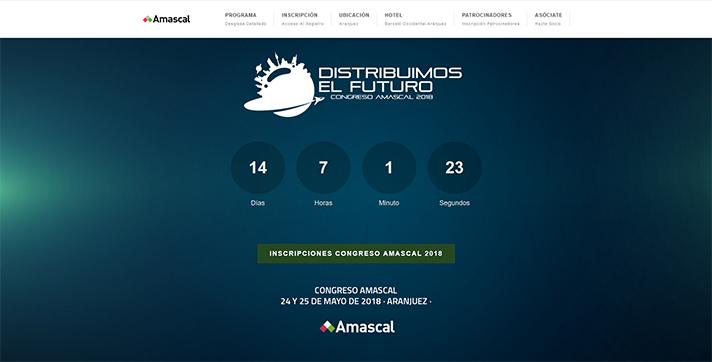 El Congreso de Amascal será una cita para todo el sector los días 24 y 25 de mayo próximos