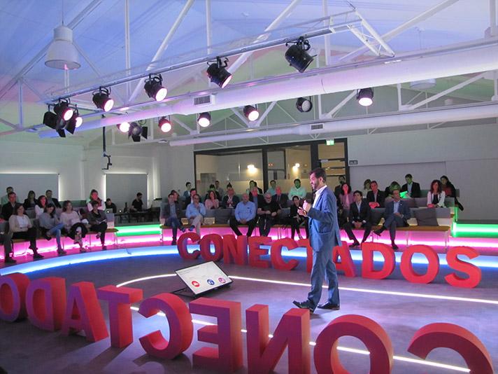 Vicente Gallardo, director de ventas Bosch Termotecnia en España, durante el evento