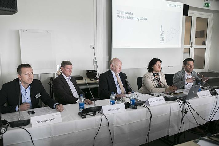 La conferencia de prensa de Chillventa sirvió para mostrar las cifras de la edición 2018