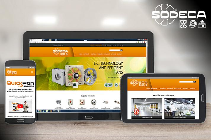 La compañía de ventilación cuenta con nueva página web