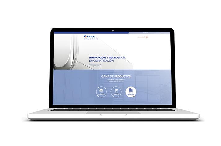La nueva web www.greeproducts.es destaca por su diseño, frescura y por la rapidez de la navegación