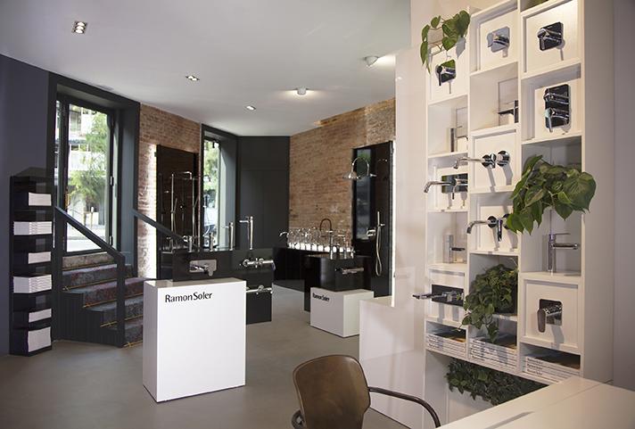 Una foto del flagship store de Ramón Soler