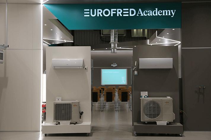 Eurofred Academy cuenta con unas instalaciones modernas, amplias y funcionales situadas en Vila-Rodona, Tarragona