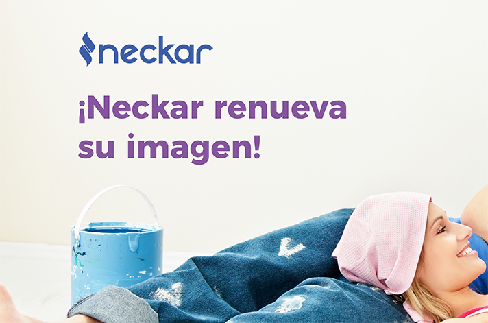 La marca Neckar experimenta un cambio en su imagen visual y estrena nuevo logotipo
