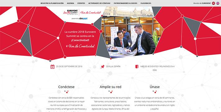 Eurovent Summit se celebra del 25 al 28 de septiembre en Sevilla