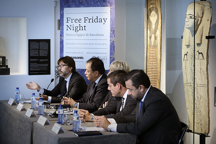 """Un momento de la presentación del """"Free Friday Night"""" que patrocina Panasonic"""