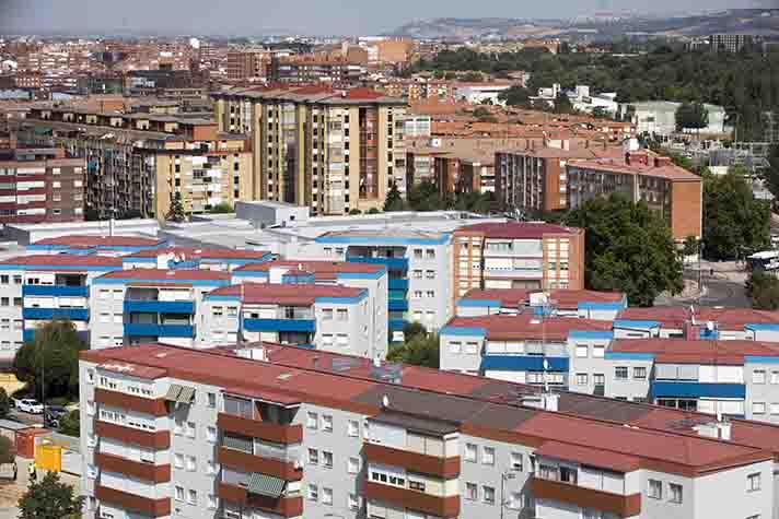 La renovación enmarcada en el Proyecto Europeo Remourban pretende mejorar la calidad de vida de este histórico conjunto de edificios