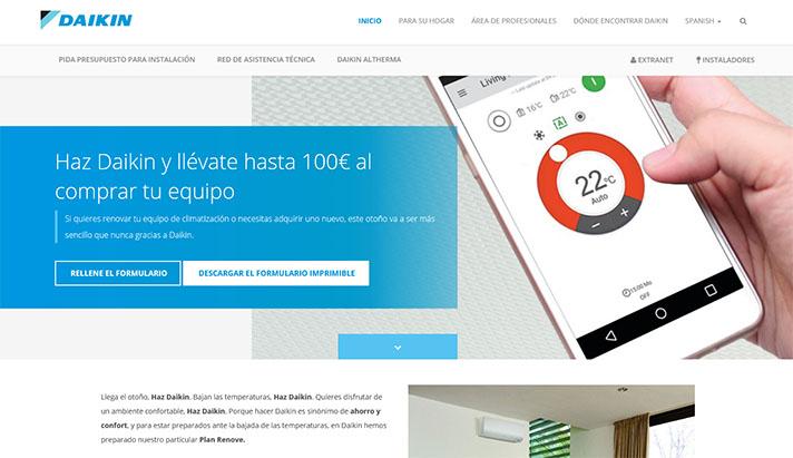 """Los usuarios pueden beneficiarse de este """"Plan Renove"""" de Daikin"""