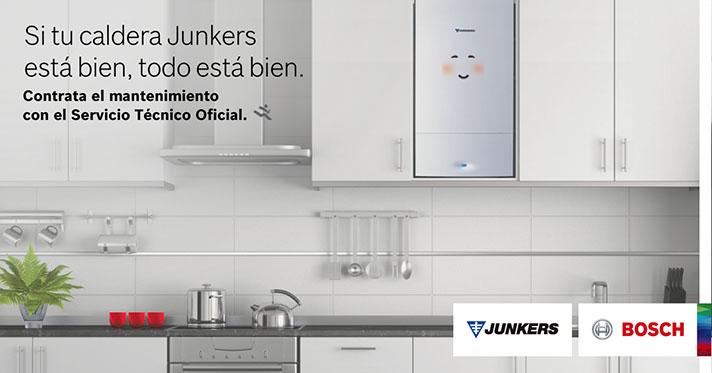 Gracias al Servicio de Mantenimiento de Junkers, el usuario puede evitar cualquier imprevisto