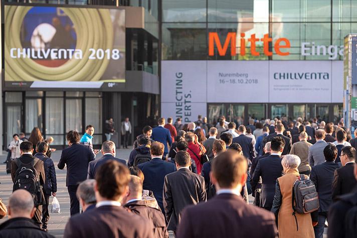 35.4901 visitantes profesionales de 125 países acudieron a Chillventa 2018