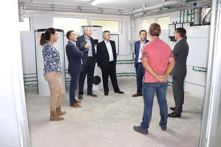 Estas instalaciones han podido llevarse a cabo gracias al convenio de colaboración uni-versidad-empresa firmado por la FUEIB y la marca alemana