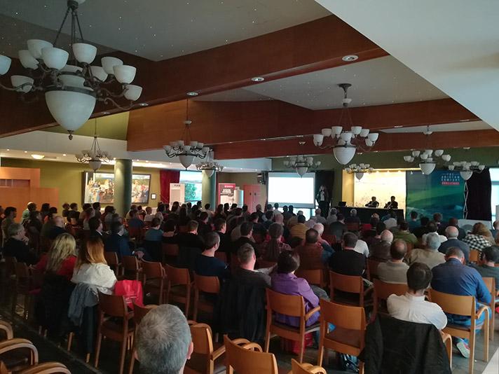 La presentación se celebró el pasado 9 de octubre en el Castillo Gorraiz de Pamplona (Navarra)