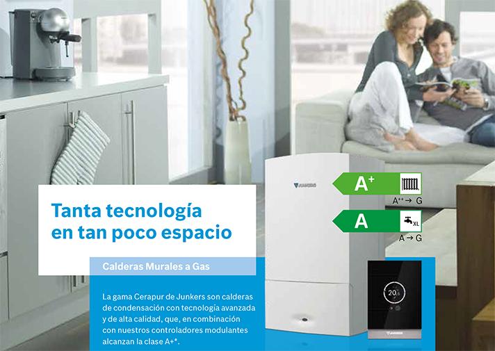 Según el Barómetro de la Energía de Junkers, este tipo de soluciones está presente en el 36.7% de los hogares españoles