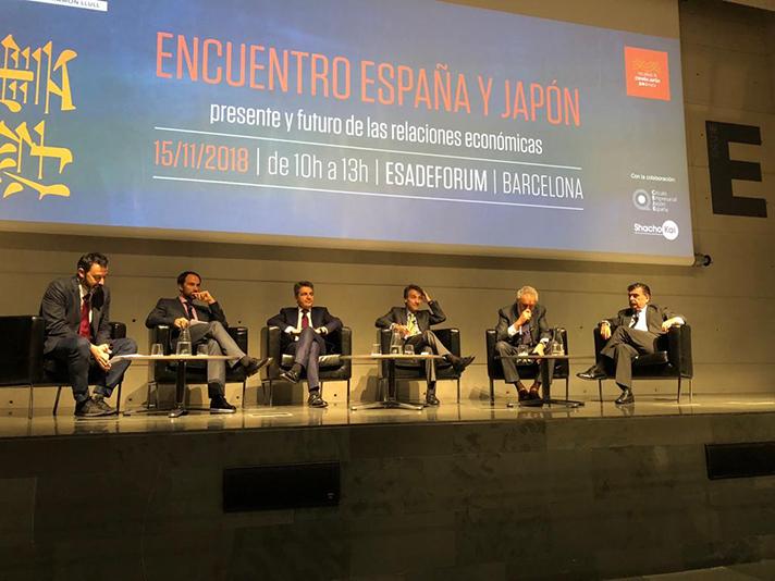 El panel de expertos en el que participó Pedro Ruiz, Director General de Mitsubishi Electric Aire Acondicionado
