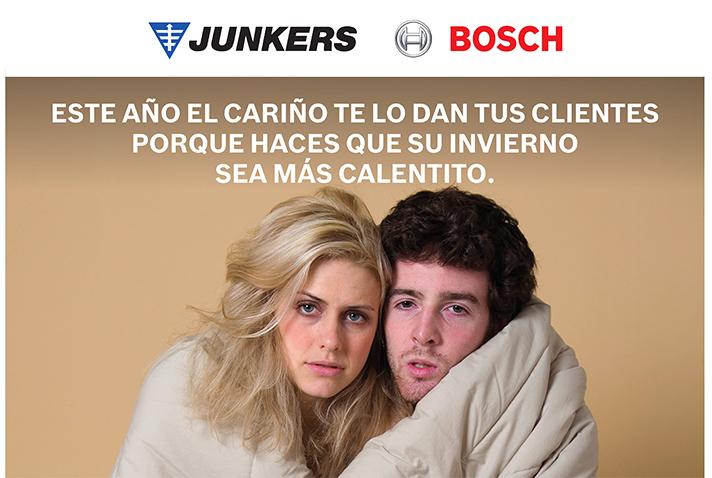 """Junkers pone en marcha la campaña """"La gente que mejor te va a caer, es la gente que tiene frío"""""""