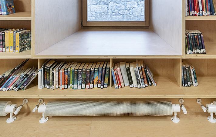 El estudio de arquitectura madrileño Murado & Elvira ha elegido el modelo Runtal Flow Form