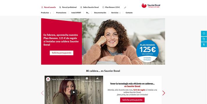 La campaña de publicidad anima a instalar calderas de la marca