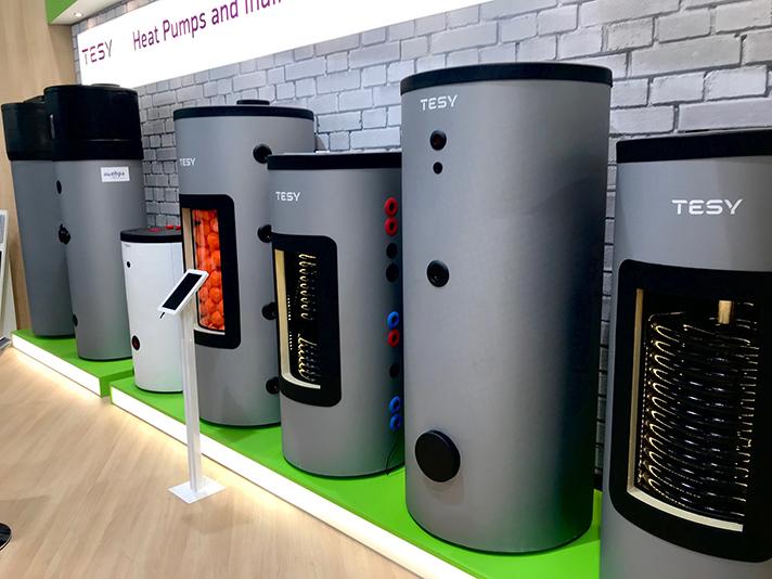 Los últimos productos lanzados al mercado por Tesy estuvieron presentes en la ISH 2019