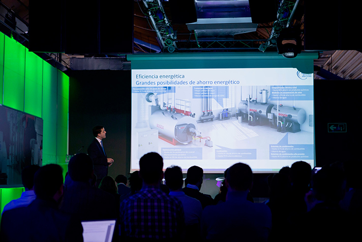 El objetivo de la jornada fue volver a demostrar los últimos avances y tecnologías del mercado aplicadas a Salas de Calderas Industriales