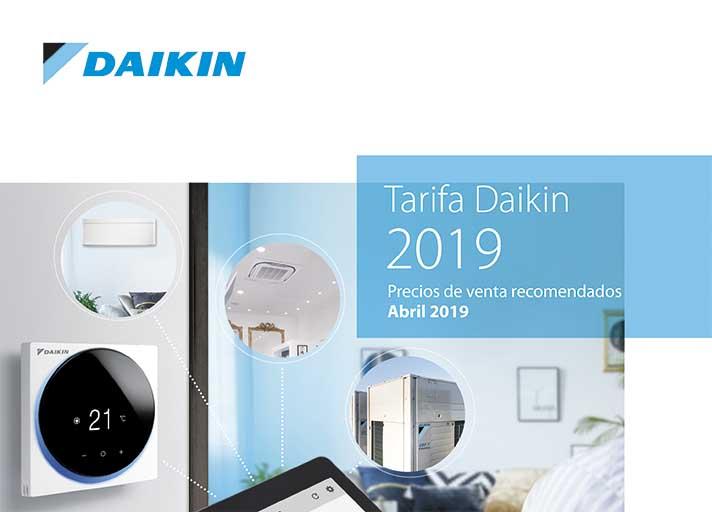 Daikin ofrece productos en el ámbito doméstico, comercial, industrial y control
