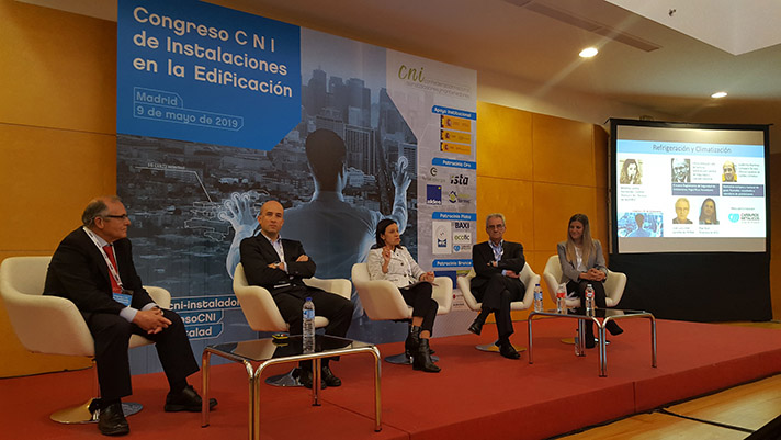 El Congreso C N I de Instalaciones en la Edificación se celebró en Ifema en Madrid