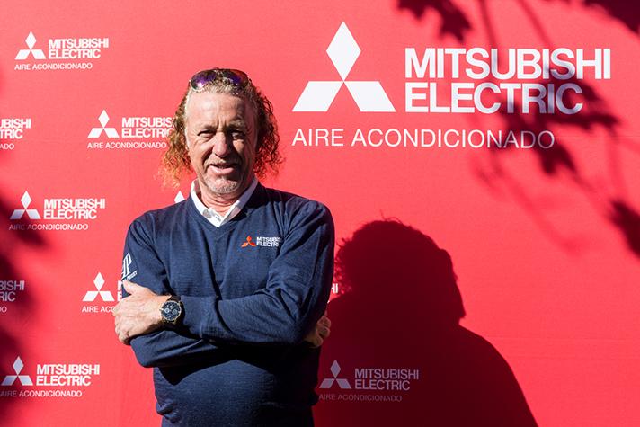 Miguel Ángel Jiménez, embajador global de Mitsubishi Electric
