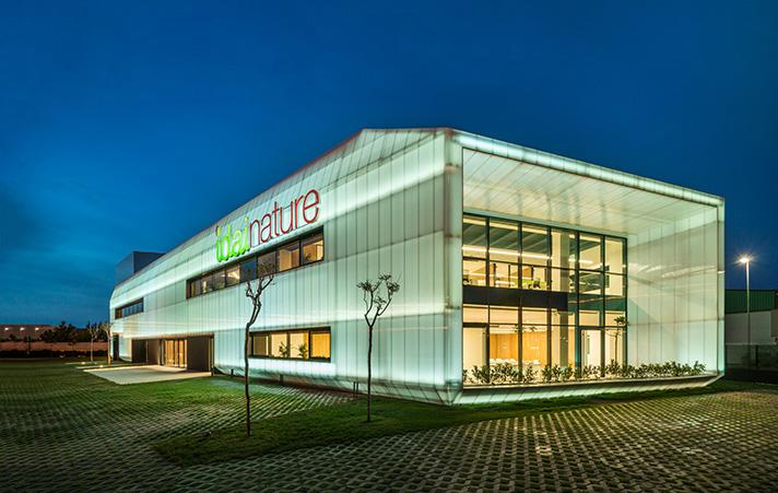 El edificio de oficinas de Idai Nature ha obtenido el primer premio Mundial a la Excelencia en Diseño Arquitectónico Sostenible