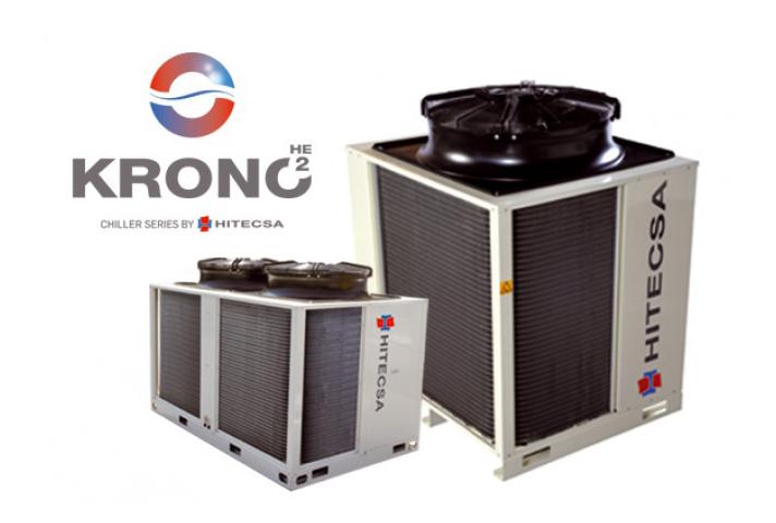 Para el proyecto se han elegido dos enfriadoras de la serie KRONO2