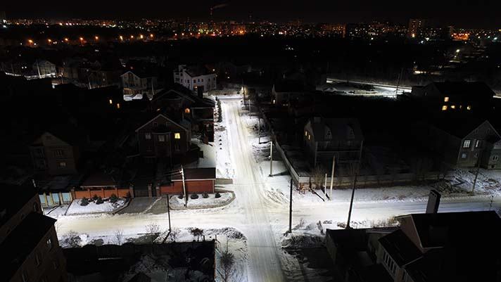 La elección a favor de los aparatos LED de Fereks fue basada por el consumo eléctrico ultrabajo