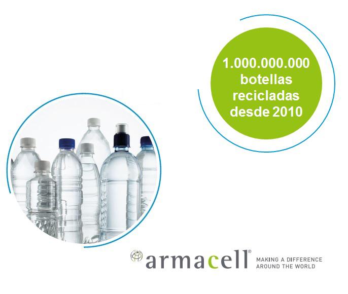 Esta tecnología de proceso patentada ha sido desarrollada por Armacell