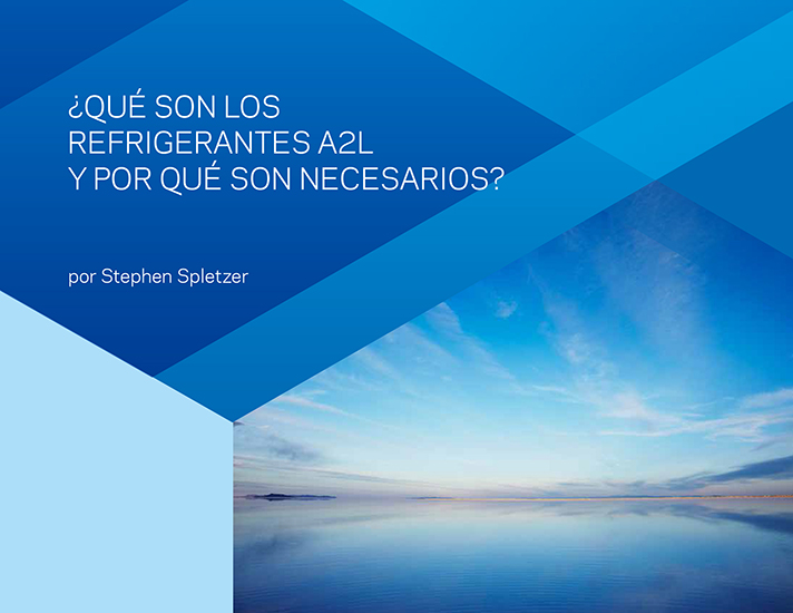La compañía proporciona información útil sobre las ventajas de utilizar los refrigerantes Opteon™ XL A2L