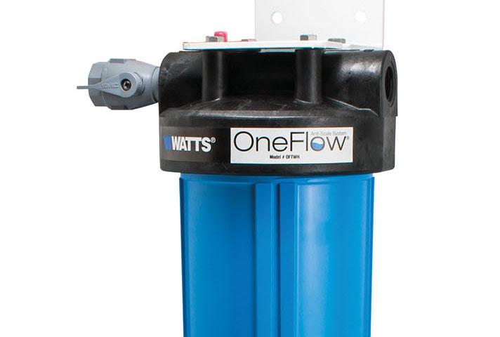 OneFlow® evita los depósitos de cal en tuberías y grifos