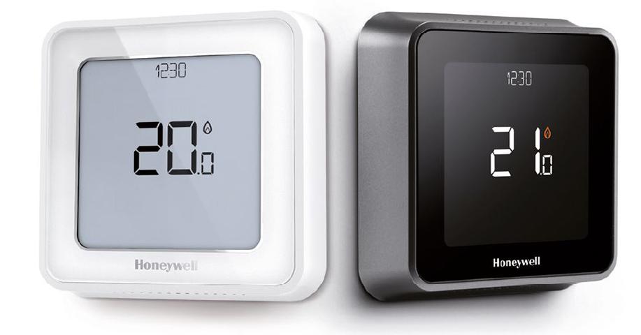 El termostato inteligente T6 proporciona una regulación de la temperatura personalizable en toda la casa