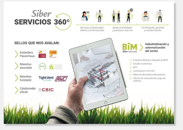 Siber ha presentado en Rebuild 2019 sus servicios 360º orientados a los profesionales del sector
