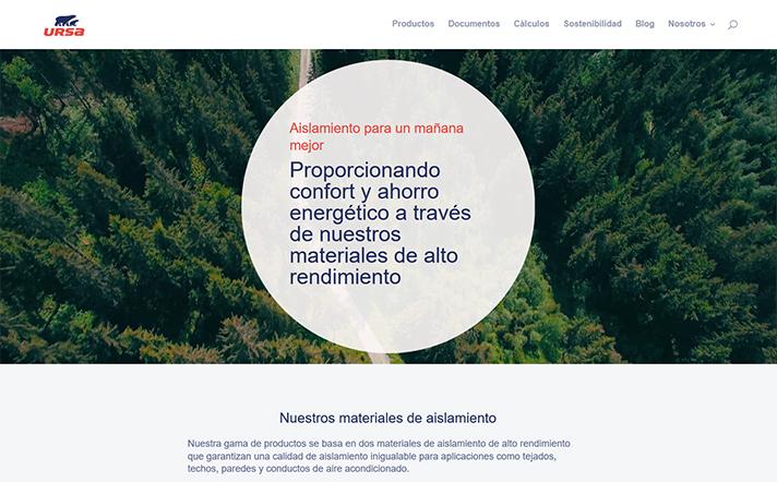 La web cuenta con diversas herramientas de cálculo para facilitar la elección del material más idóneo y acceso a la biblioteca BIM