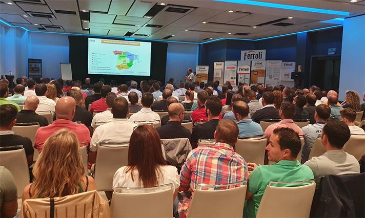 Ferroli, en la reunión anual de calefacción de Brico Depôt 2019-2020