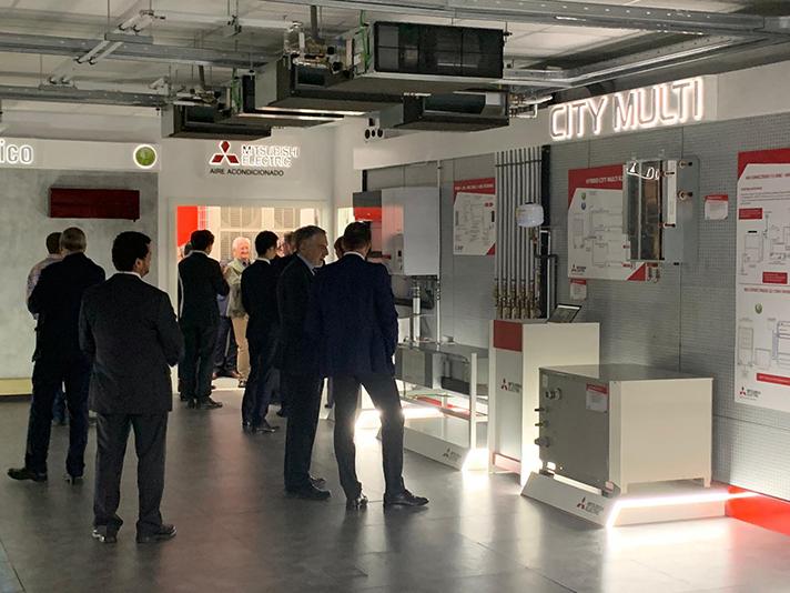 Academia 3 Diamantes. El Centro de formación de Mitsubishi Electric para los profesionales del clima