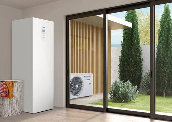 Aquarea All in One es un sistema de climatización que utiliza energías renovables