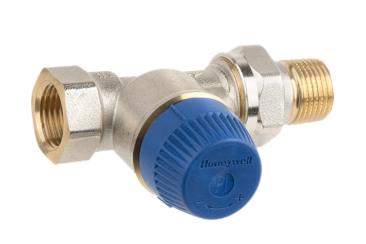 La Kombi-TRV combina en un solo dispositivo una válvula termostática y un controlador de presión diferencial