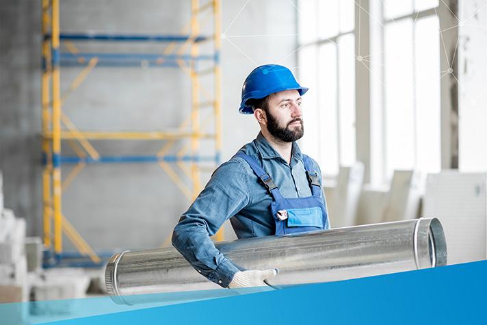 El portátil Si-AQ Expert se orienta hacia el control de la calidad del aire interior en almacenes y edificios de oficinas
