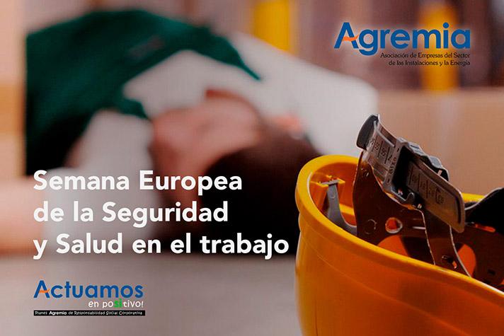 La finalidad de esta campaña es promover la seguridad y salud de los trabajadores de las más de 2.000 empresas asociadas a Agremia