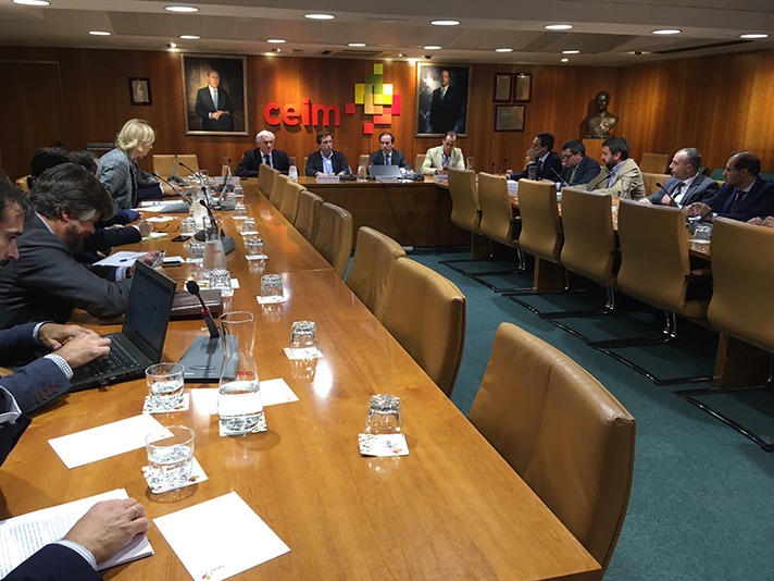 """CEIM se reúne, acompañado por los empresarios madrileños, con el Alcalde y el Delegado de Medio Ambiente y Movilidad del Ayuntamiento de Madrid para tratar la filosofía de la Estrategia """"Madrid 360"""""""