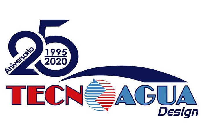 Tecnoagua ya cuenta con un logotipo conmemorativo de sus 25 años