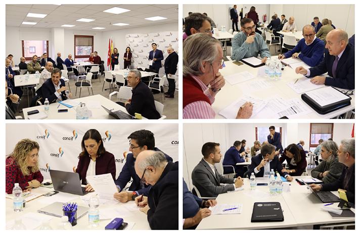 El Workshop tuvo lugar en la sede de Conaif el pasado 14 de noviembre