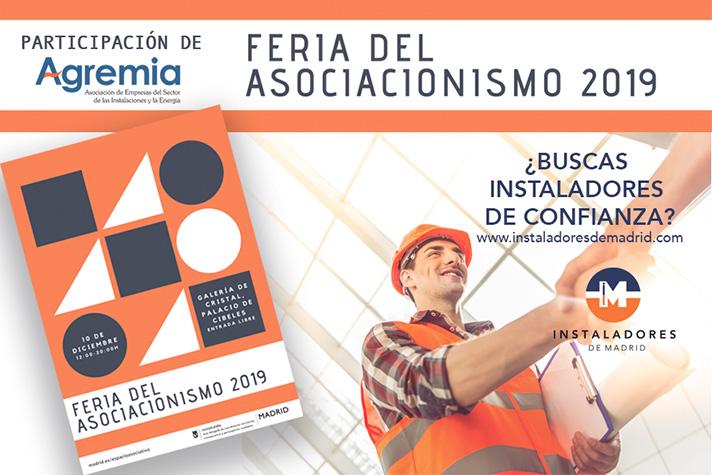 Agremia difundirá en su stand los cursos de la Escuela Técnica y el buscador de instaladores www.instaladoresdemadrid.com