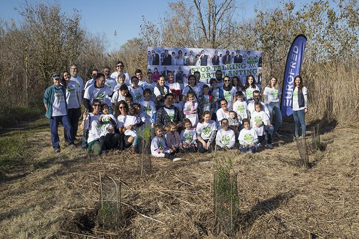 Eurofred ha ofrecido a sus colaboradores la posibilidad de participar junto a sus hijos e hijas u otros acompañantes en dos jornadas de voluntariado medioambiental