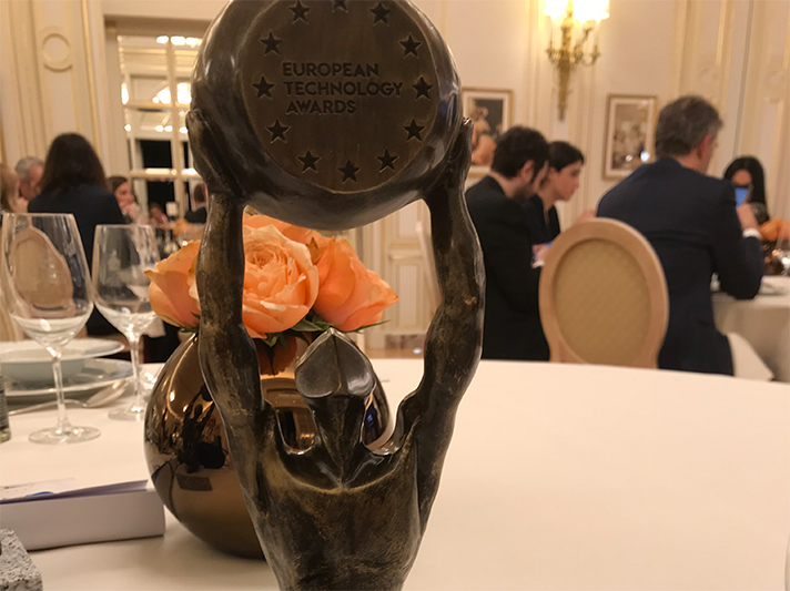 La entrega tuvo lugar el pasado 6 de diciembre en el Hotel Ritz de Paris
